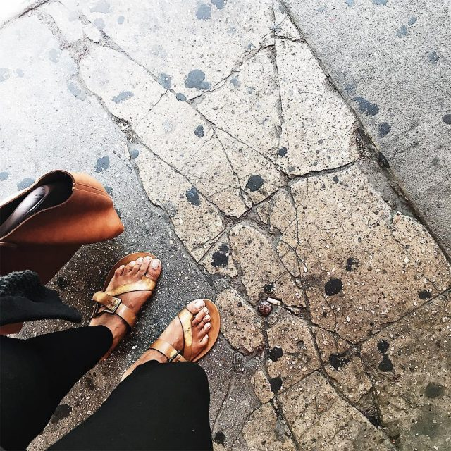 Stepping into the weekend with inspiration under my feet hellip