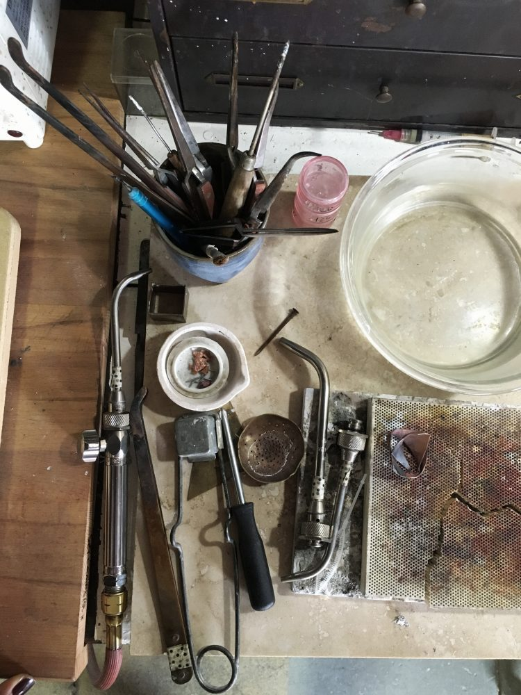 Jewelers Torch and Soldering Station a peek inside my jewelry studio