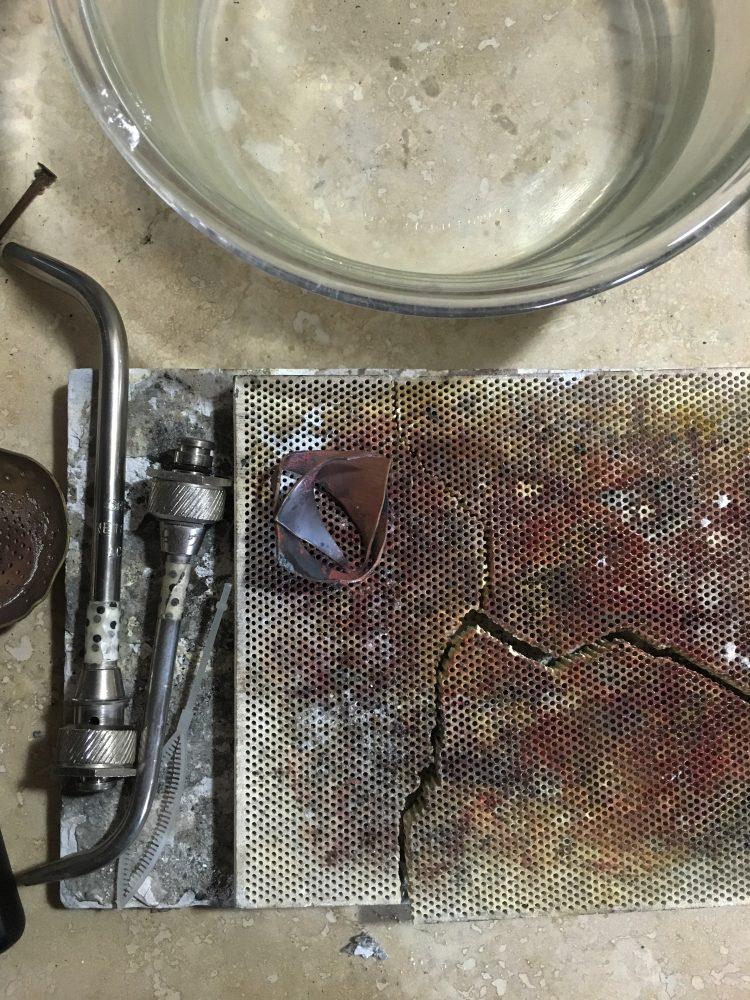 Jewelers soldering station a peek inside my jewelry studio