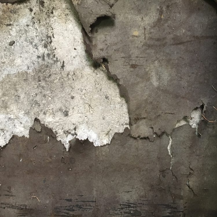 Textures in Old Drywall a peek inside my jewelry studio