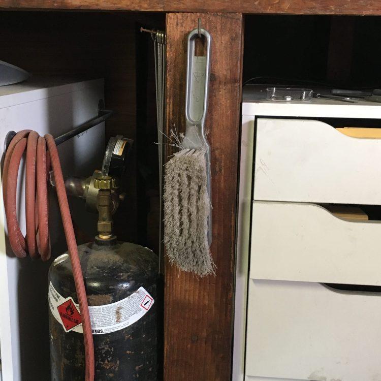 soldering station a peek inside my jewelry studio