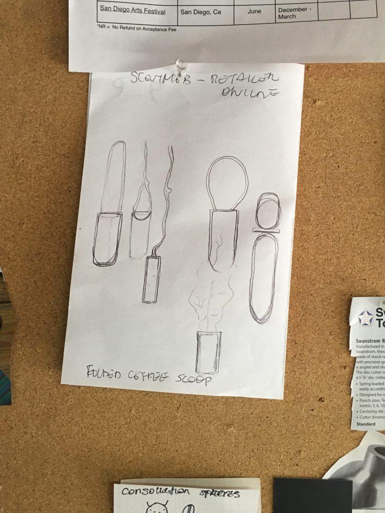 Inspiration Board a peek inside my jewelry studio
