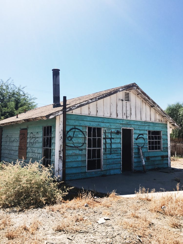 Abandon House at Salton Sea