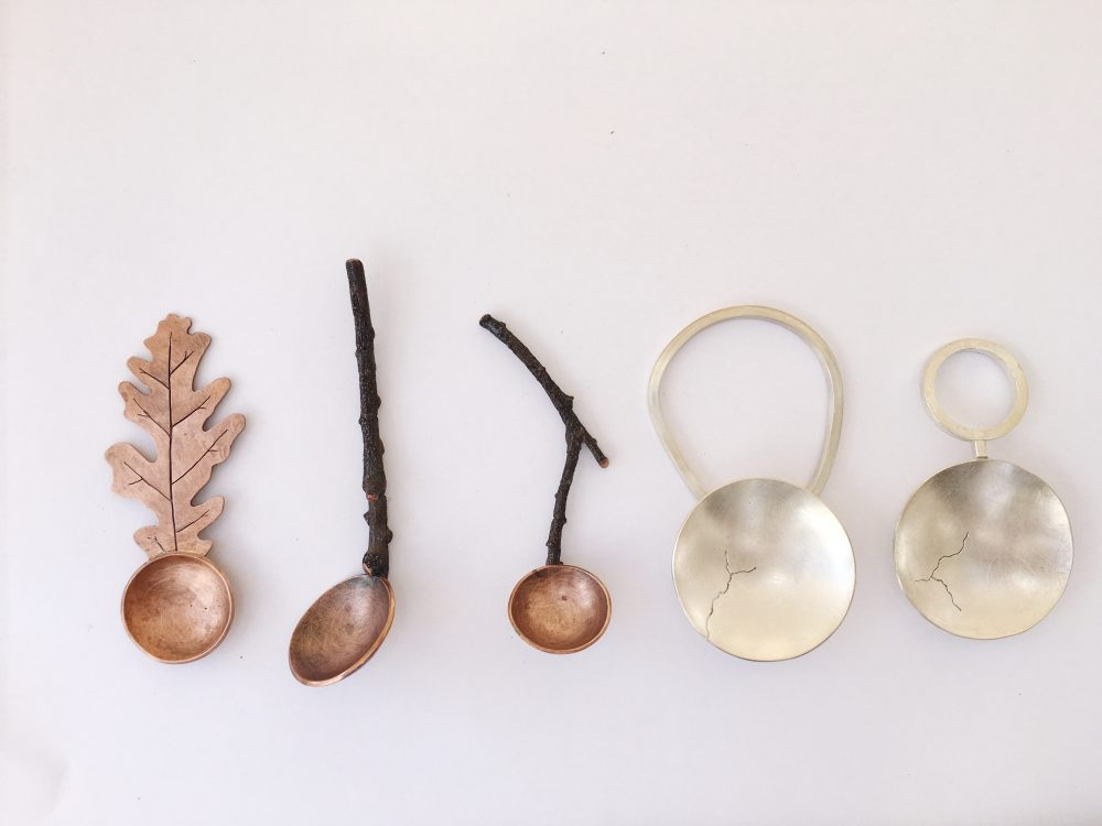 spoon making workshop at irvine fine arts center