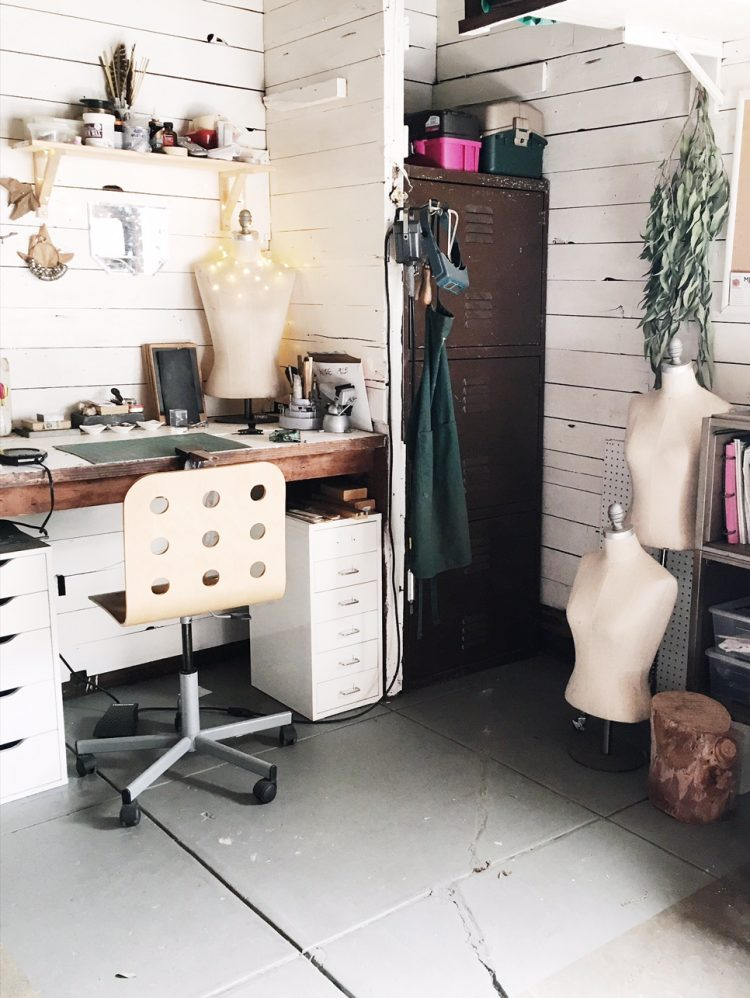 March Meet the Maker Workspace Routine Charmaine Vegas of Bless the Theory Jewelry Studio