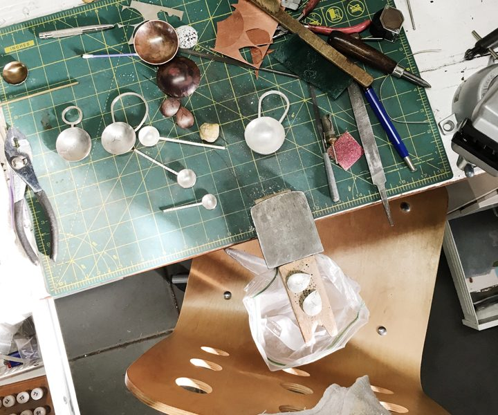 March Meet the Maker Workspace Routine Charmaine Vegas of Bless the Theory Jewelry Bench