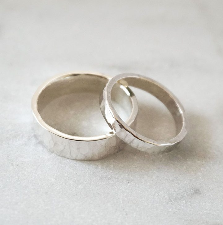 vow renewal wedding bands