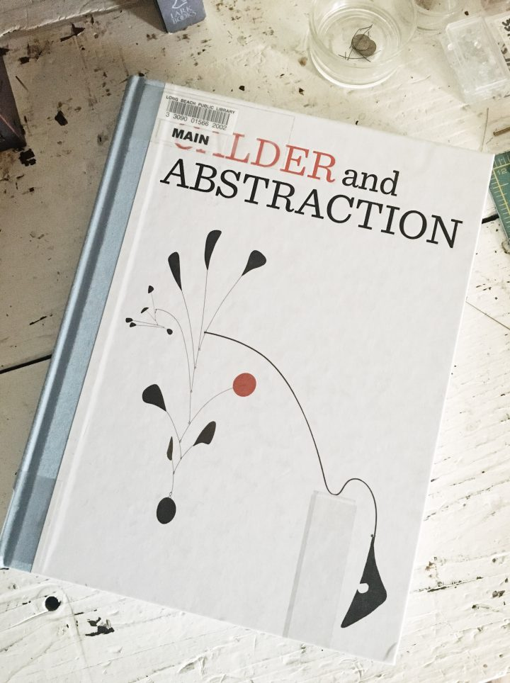 books I'm currently reading Alexander calder abstraction from avant-garde to iconic