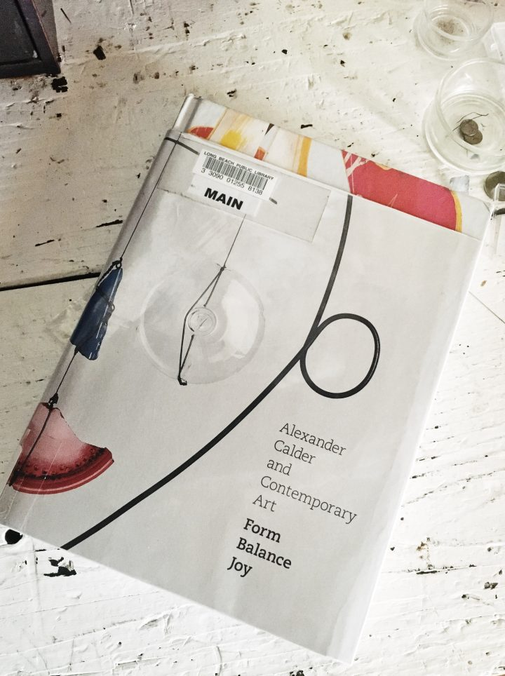 books I'm currently reading Alexander calder contemporary art form balance joy