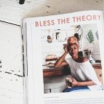 Charmaine Vegas_Bless the Theory featured in In Her Studio Magazine